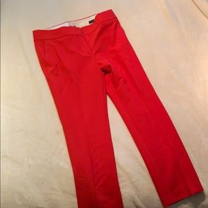 Loft skinny Marisa pants in beautiful Red